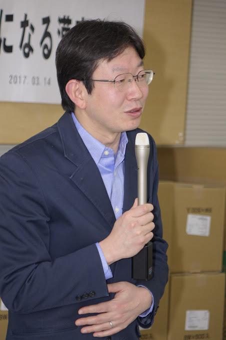 講師の円満字二郎氏